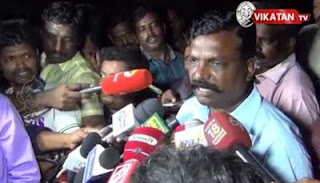 What was Vijayakanth's reaction after TN Election Result ?