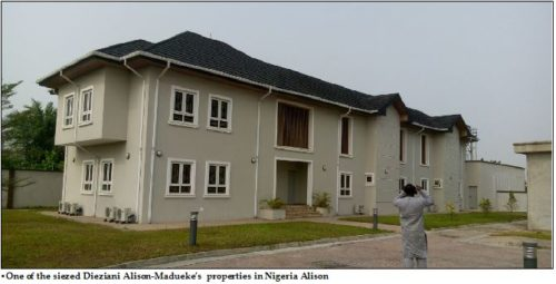 Image result for diezani alison madueke estate in bayelsa