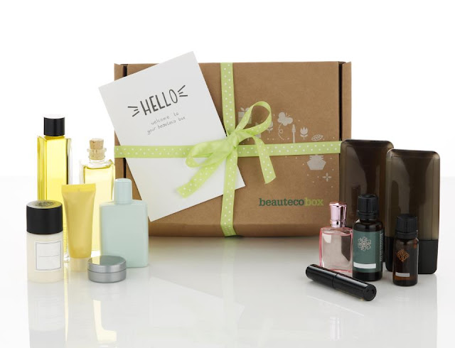 new monthly beauty box subscription full size sample products natural eco friendly