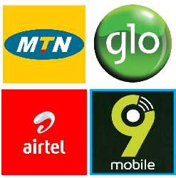 mtn, airtel, 9mobile, glo logo image