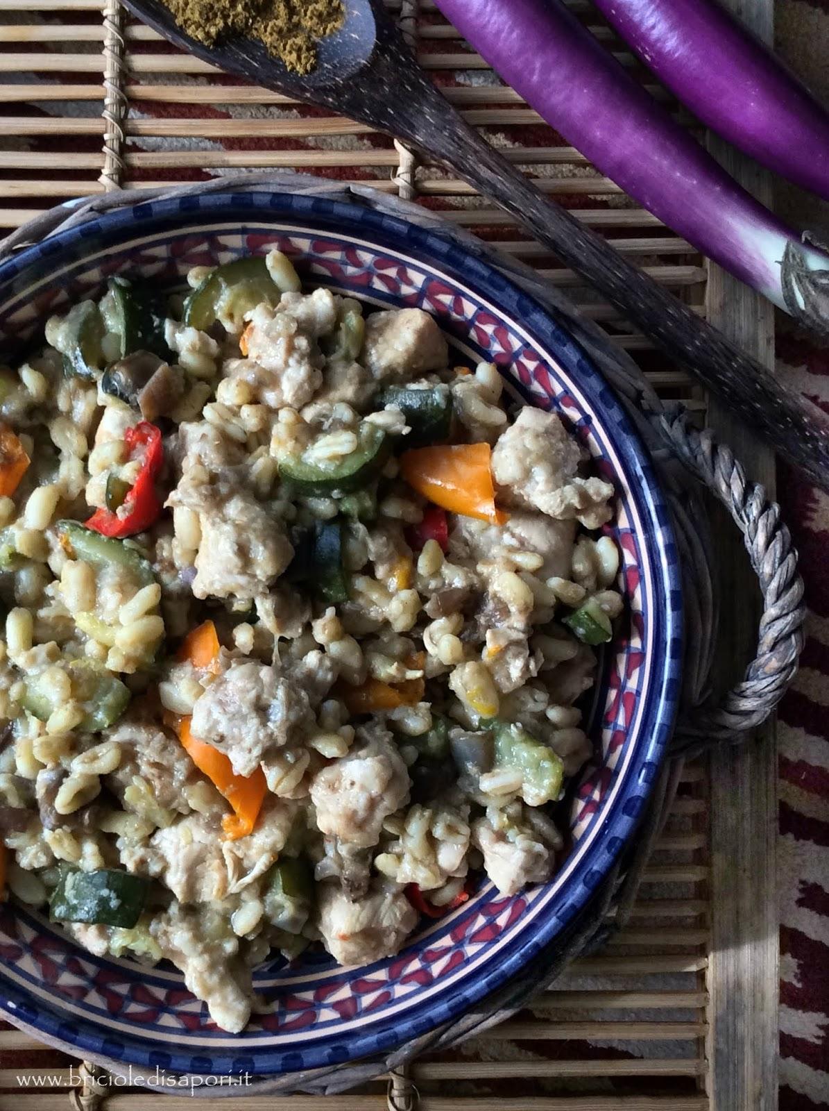 ricette con pollo e verdure