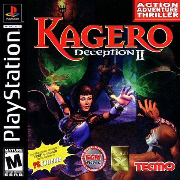 Kagero - Deception II - PS1 - ISOs Download