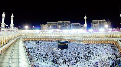 Masjid ini adanya di sekeliling Mekkah