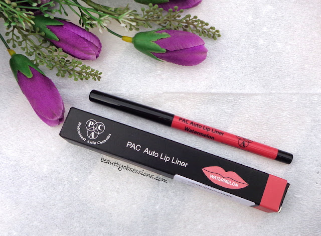 PAC Cosmetics Auto Lip Liner 'Watermelon' - Review ...