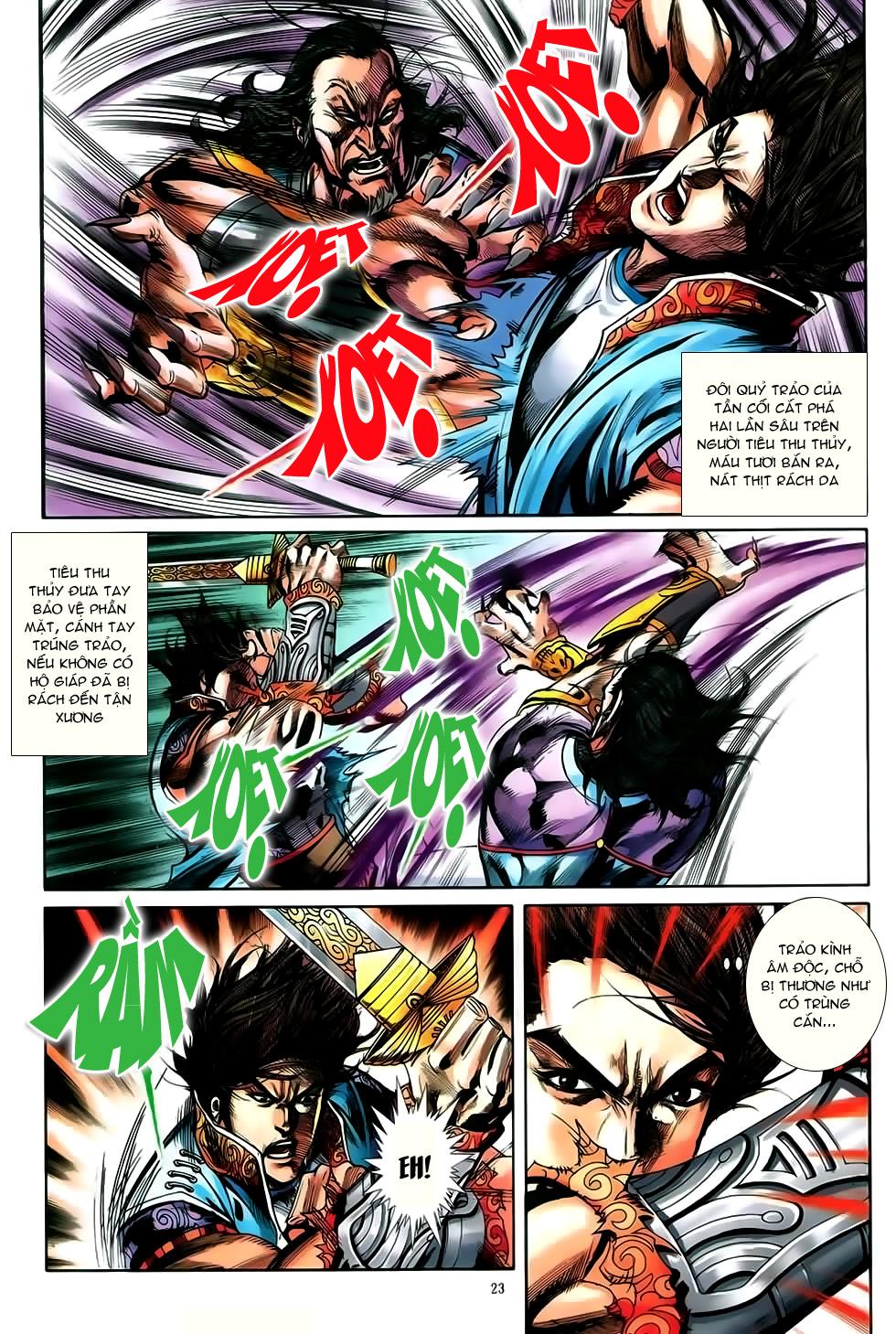 Đại Hiệp Truyền Kỳ (Thần Châu Hậu Truyện) chap 50 - Trang 20