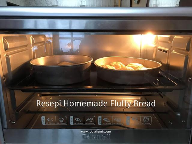 resepi Roti Fluffy