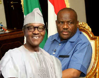 BREAKING: Buhari, Gov. Wike In Secret Aso Rock Metting