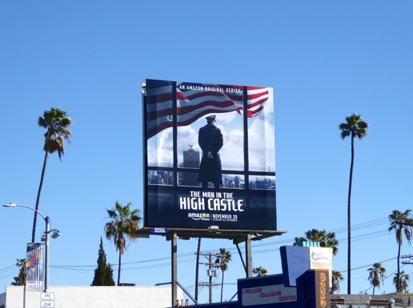 Man in High Castle season 1 billboard