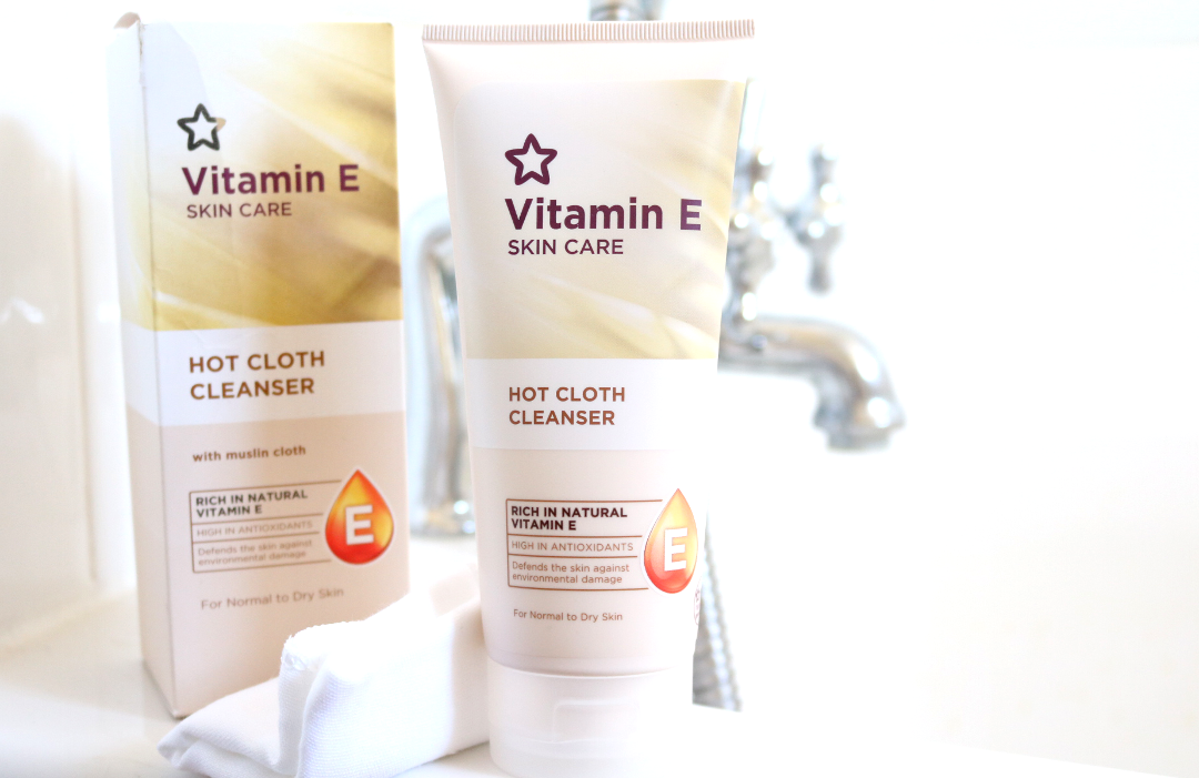 Superdrug Vitamin E Hot Cloth Cleanser review (aka Liz Earle Cleanse & Polish dupe)