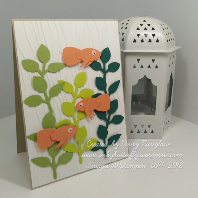 Punch art from Stampin Up