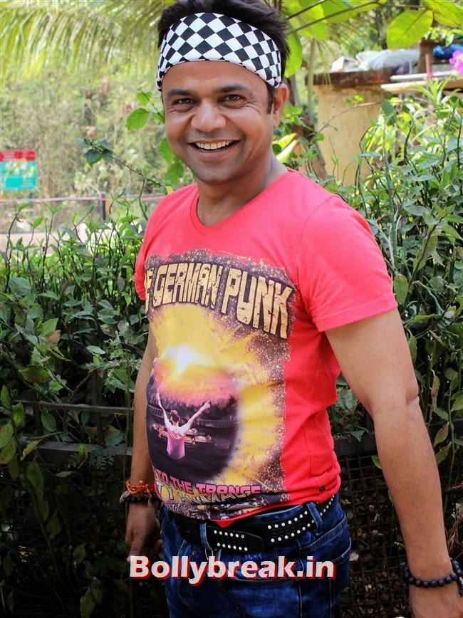 Rajpal Yadav, Pics of Priti Sharma in Hume Toh Loot Liya Film Shoot