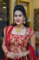 Jenny Honey in Stunning Dark Red Anarkali Dress at Splurge   Divalicious curtain raiser ~ Exclusive Celebrities Galleries 077.JPG
