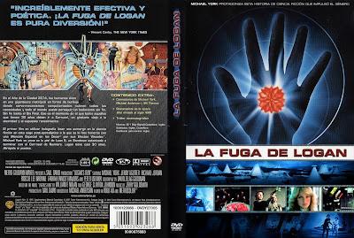 Carátula dvd: La fuga de Logan (1976) (Logan's Run)