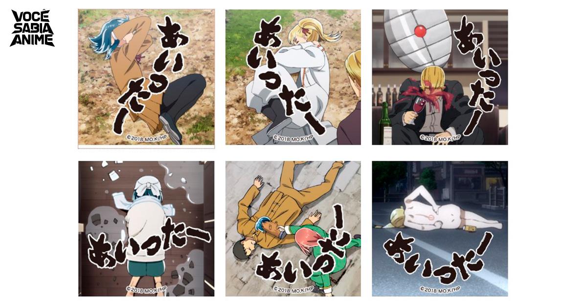Hinamatsuri ganha emotes pelos seus 10.000 seguidores no twitter