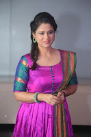 Shilpa Chakravarthy in Purple tight Ethnic Dress ~  Exclusive Celebrities Galleries 020.JPG