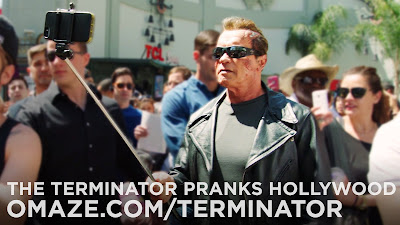 Arnold Pranks Fans as the Terminator for Charity