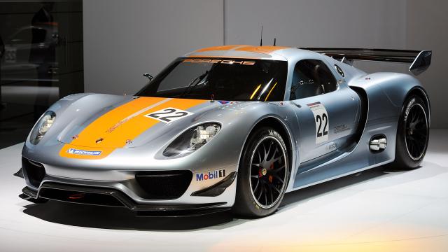 Porsche 918 Rsr Concept Removed