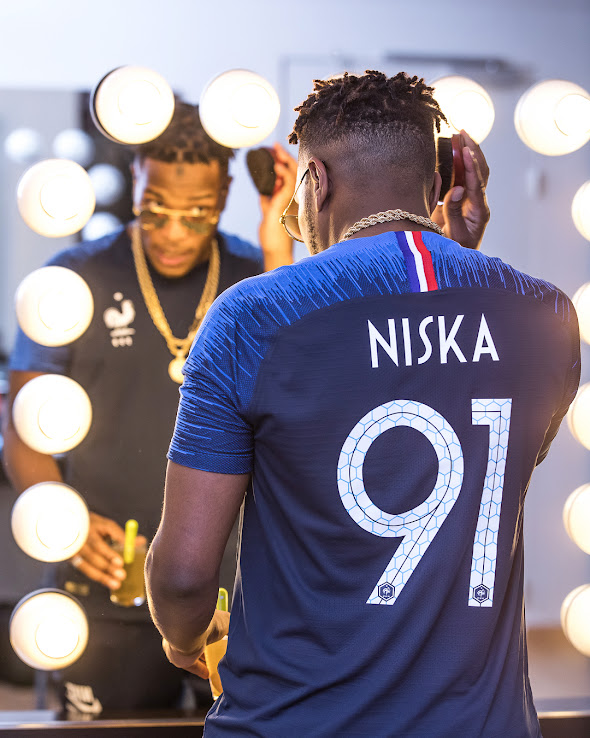 8168aa06eb0 Unique Nike France 2018 World Cup Kit Font Revealed - Footy Headlines