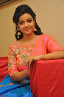 Nithya Shetty in Orange Choli at Kalamandir Foundation 7th anniversary Celebrations ~  Actress Galleries 121.JPG