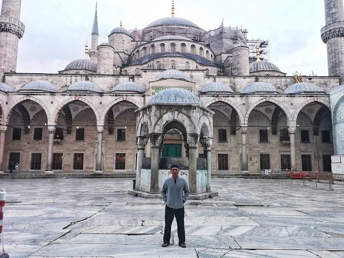 Subuh Tanpa Qunut Di Masjid Biru, Istanbul
