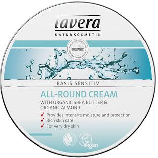 Lavera Basis Sensitiv  krem pielęgnacyjny masło shea, olej ze słodkich migdałów