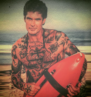 tatuando el pasado 10 David Hasselhoff