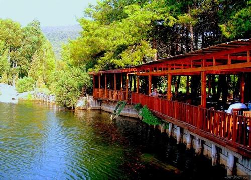 marmaris çamlıköy saklı göl