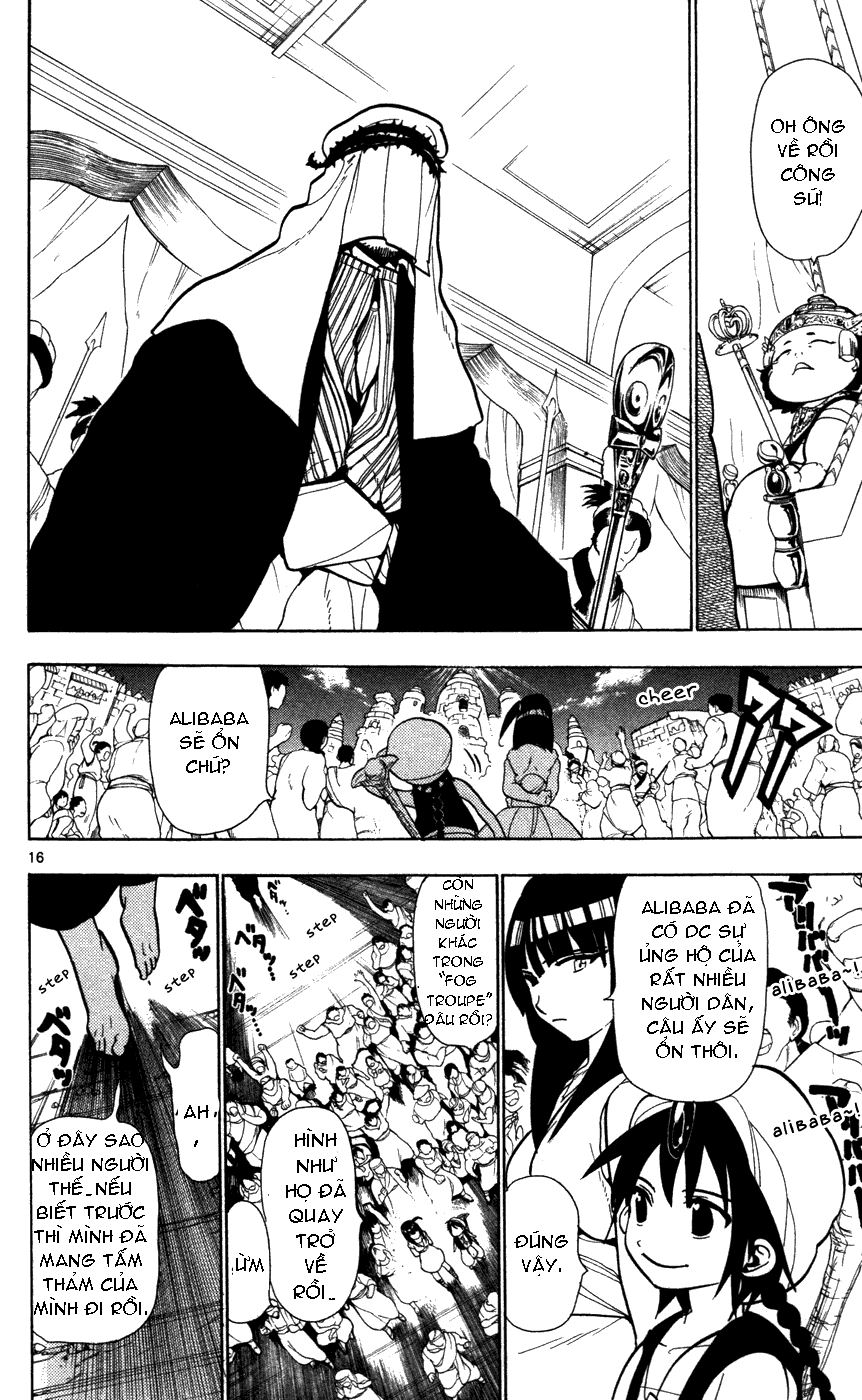 Magi The Labyrinth of magic chapter 43 trang 18