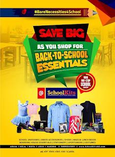 SchoolKits Kicks Off Back-To-School Season with the #BareNecessities4School Sales