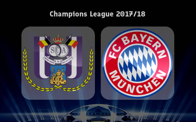 Anderlecht vs Bayern Munich Full Match & Highlights 22 November 2017