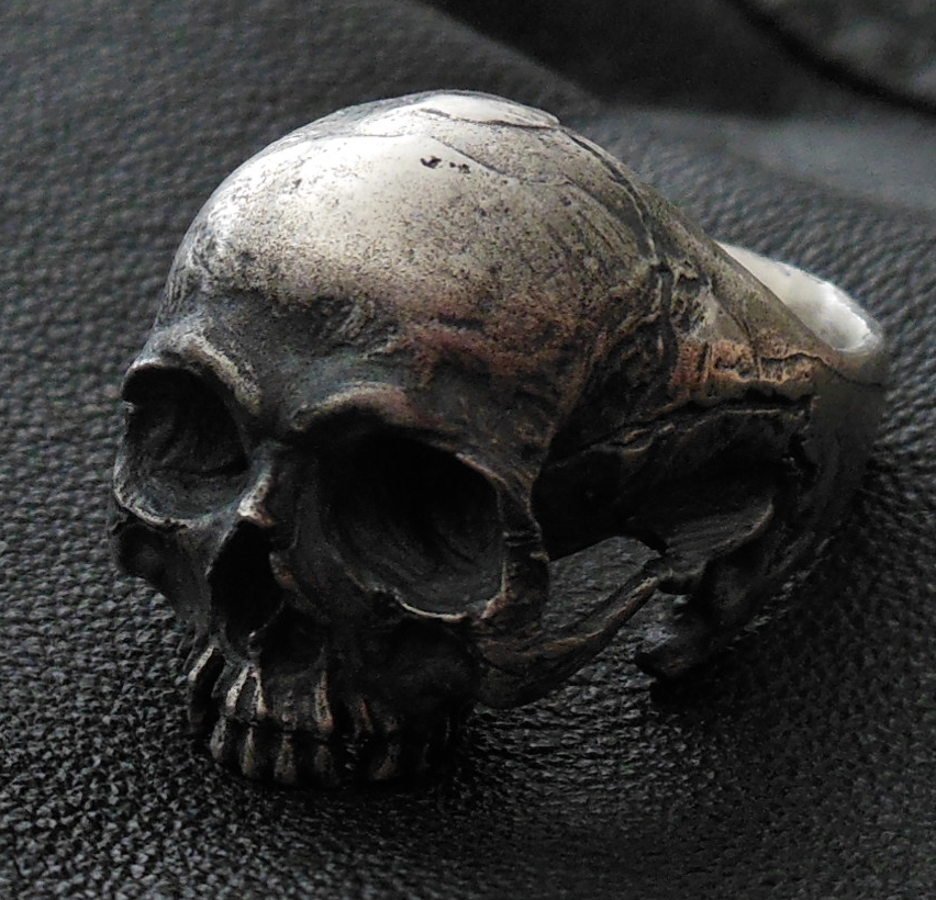into the jewelry skull ring into the jewelry mens jewelry skull 7288
