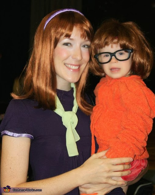 Velma and Daphne Mom and Baby