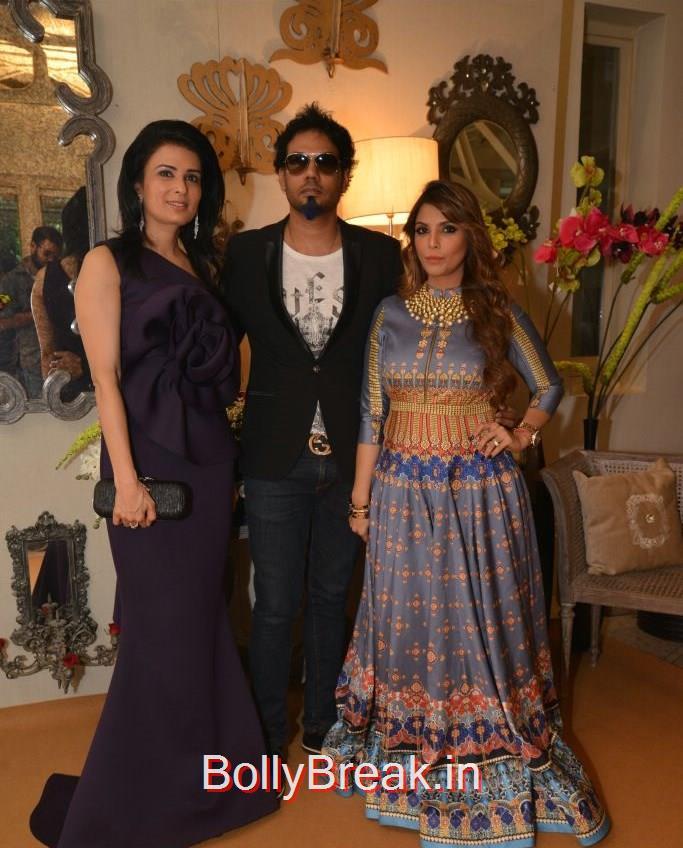 Dhruv Gurwara, Divya Gurwara, Mayank Soni, Anchal, Evelyn, Arpita at Bridal Asia Show Media Preview