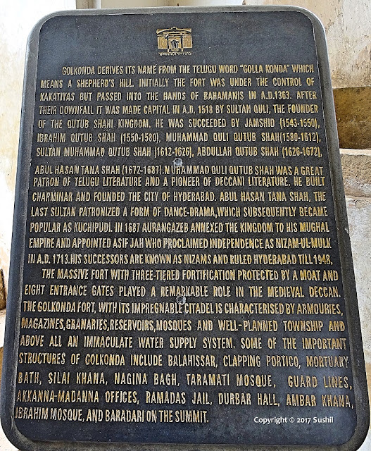 About Golkonda Fort, Hyderabad