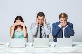 emitir opinião em reunião de trabalho
