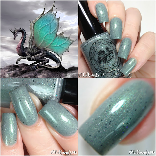 My Stunning Nails-Draco