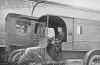 Marie Curie in a Mobile Military Hospital X-Ray Unit
