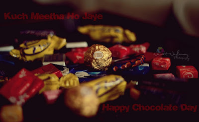 happy chocolate day poster