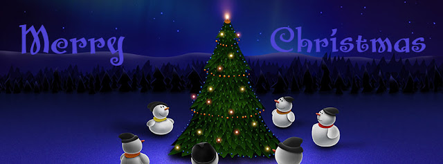 xmas facebook covers
