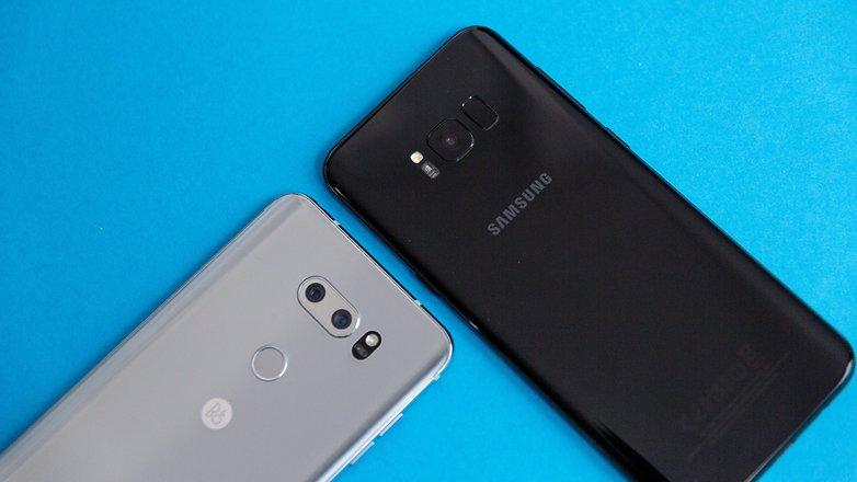 LG V30 vs Samsung Galaxy S8 +,pilihan yang sulit ?