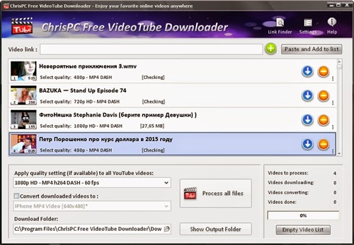 ChrisPC Free VideoTube Downloader