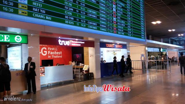 penjualan sim card thailand di bandara don mueang