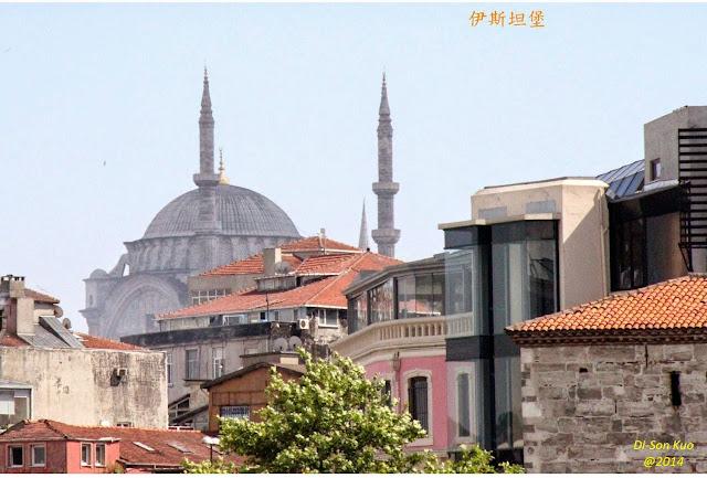 土耳其的伊斯坦堡。(行云提供)