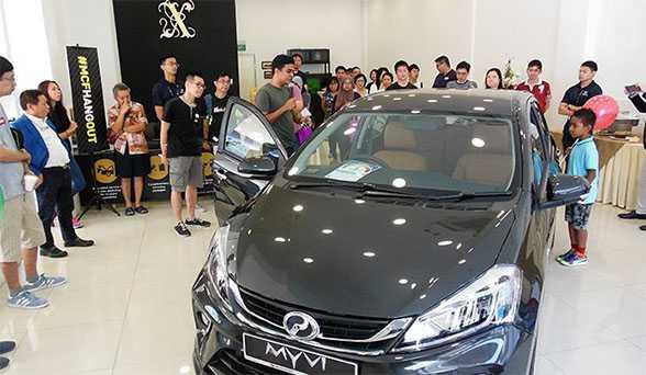 Perodua Myvi generasi ketiga masuk Singapura
