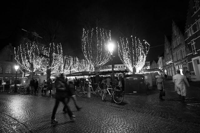 Mercatini di Natale-Piazza del Markt-Bruges