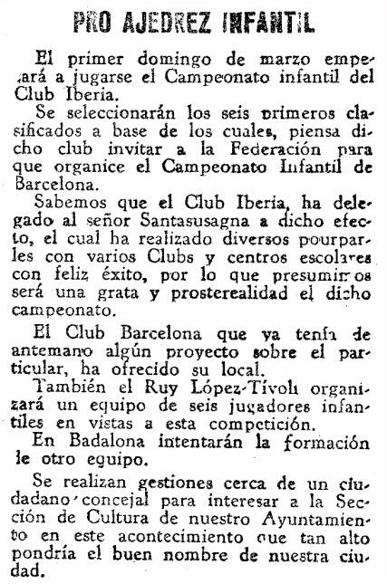 Recorte de Mundo Deportivo del 7 de febrero de 1932