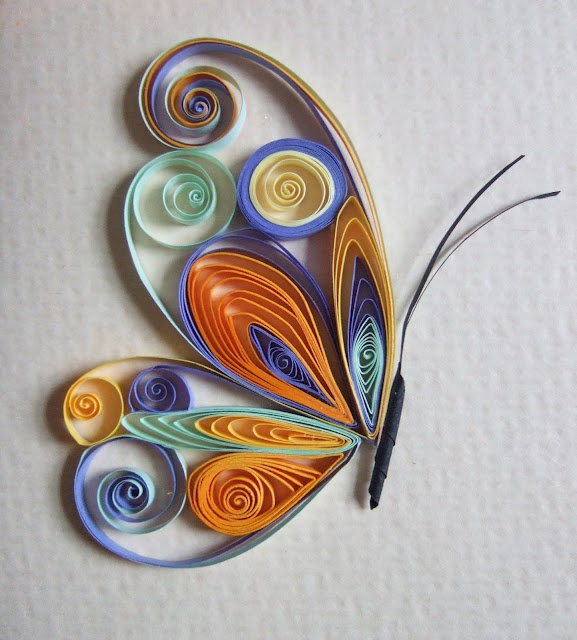 easy paper quilling animal