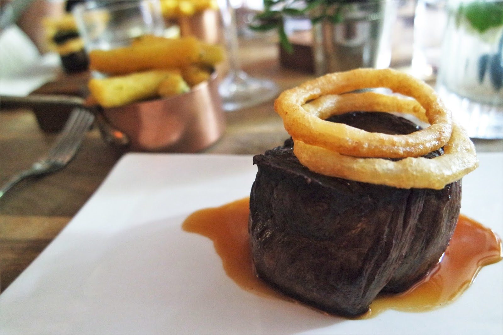 Tom Kerridge Hand and Flowers Beef Fillet and Chips