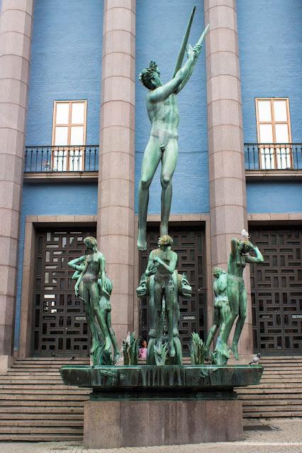 Stockholm Concert Hall, onde acontece a premiação do Prêmio Nobel