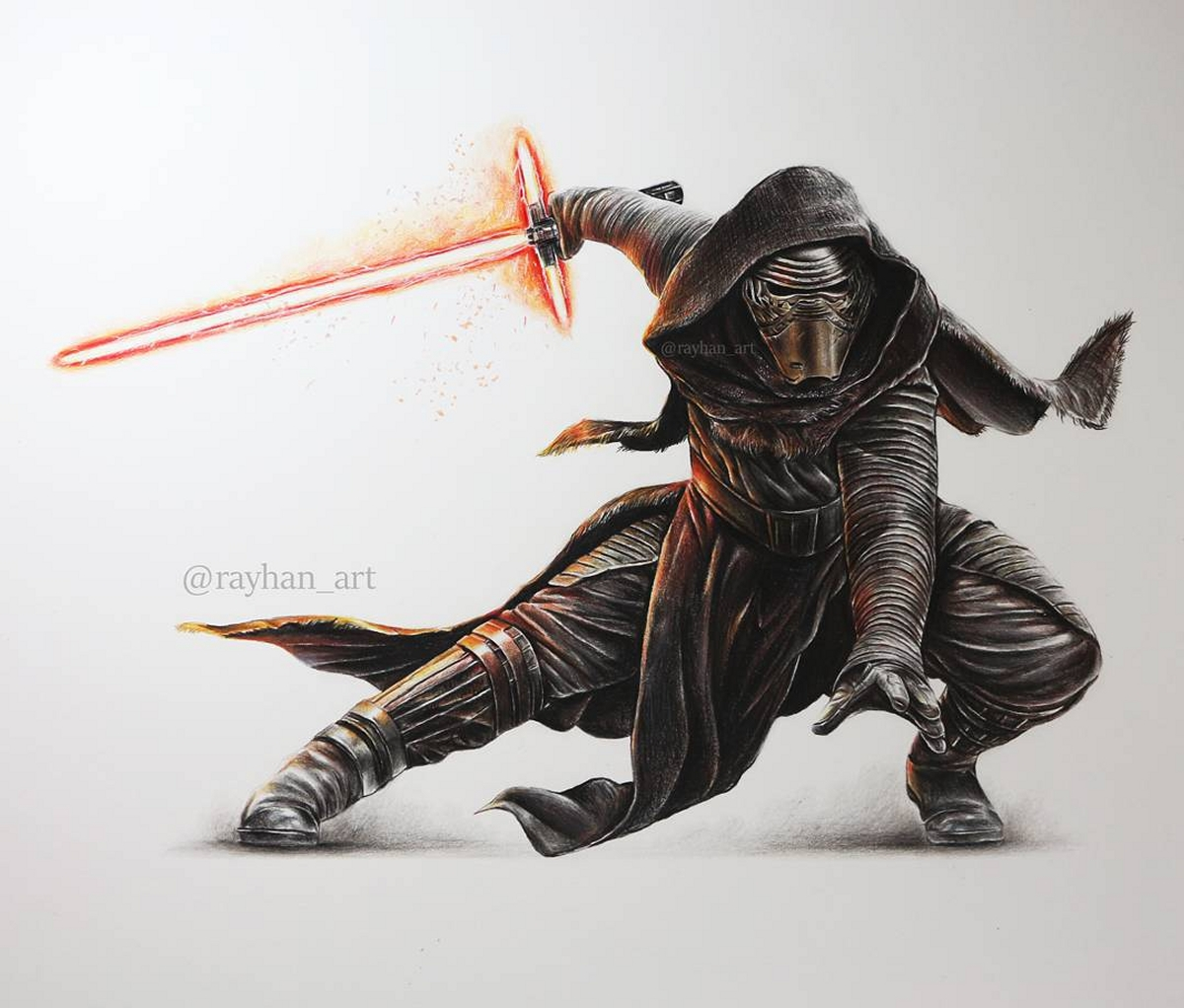 03-Kylo-Ren-Rayhan-Miah-Movie-Characters-Drawings-and-More-www-designstack-co